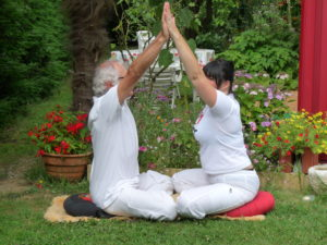 Exersice de respiration pranayama à deux