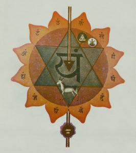 Quatrième chakra relié à un des 5 éléments: air