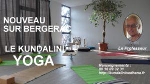 Bien être avec le nouveau yoga sur Bergerac. La salle est lumineuse, elle est une invitation à l'intériorisation.